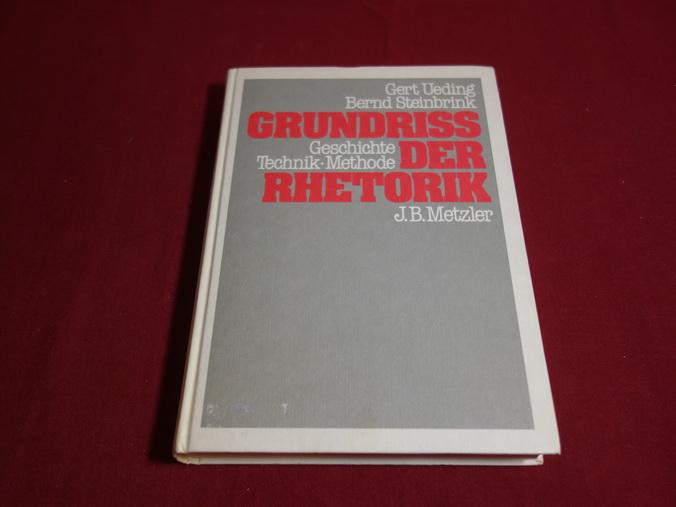 GRUNDRISS DER RHETORIK