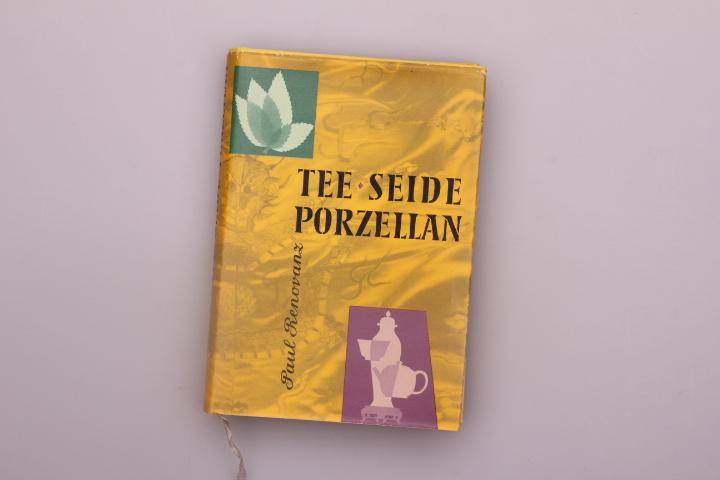 TEE, SEIDE PORZELLAN