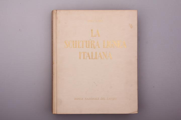 LA SCULTURA LIGNEA ITALIANA