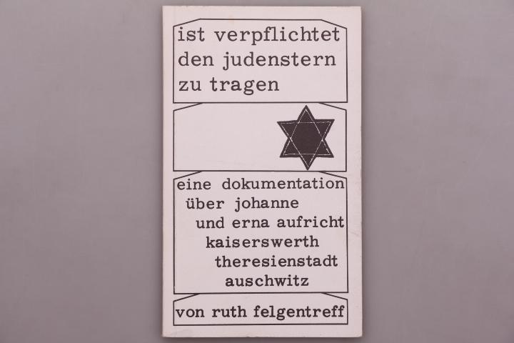 IST VERPFLICHTET DEN JUDENSTERN ZU TRAGEN