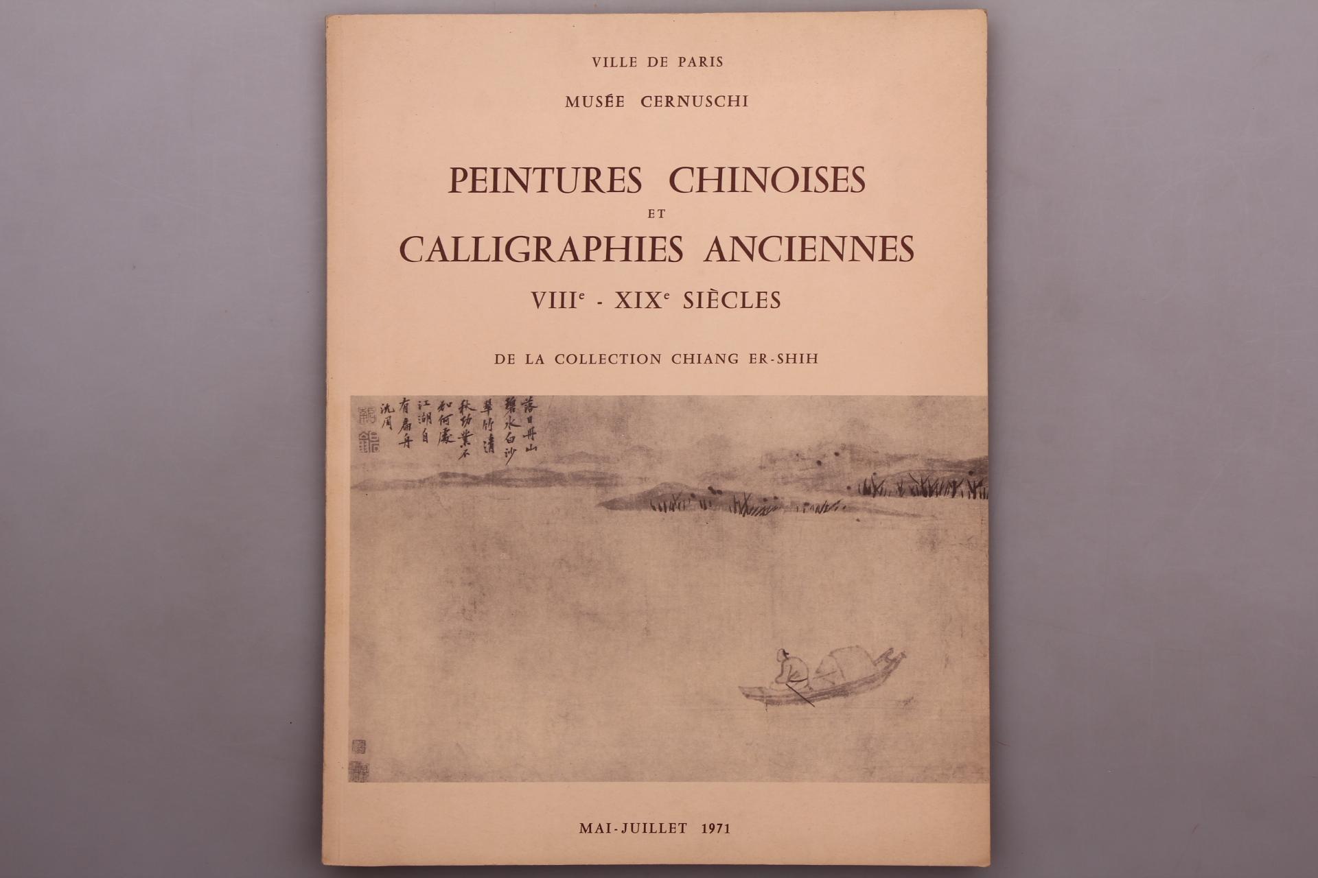 PEINTURES CHINOISES ET CALLIGRAPHIES ANCIENNES