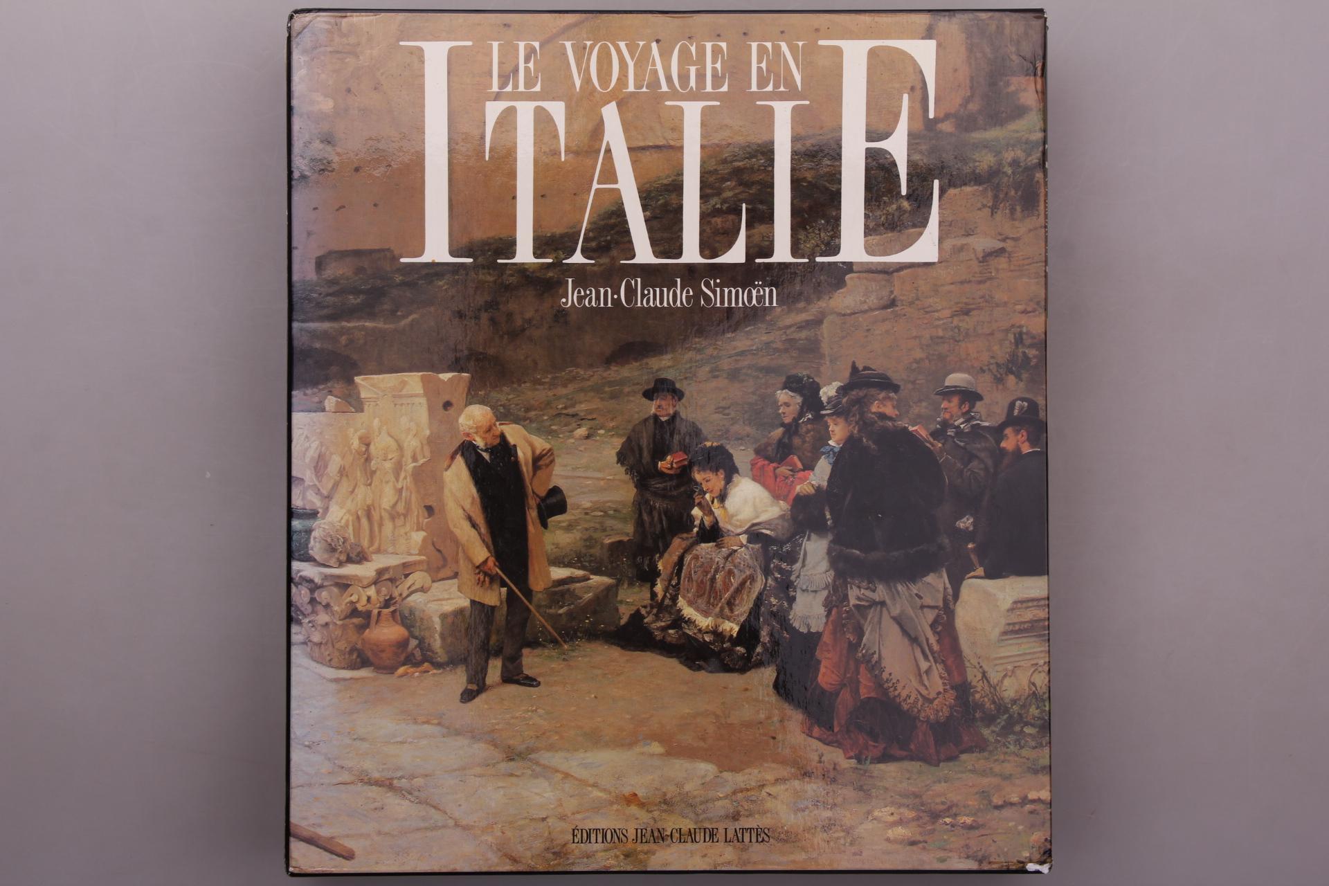 Simoen, Jean-Claude LE VOYAGE EN ITALIE