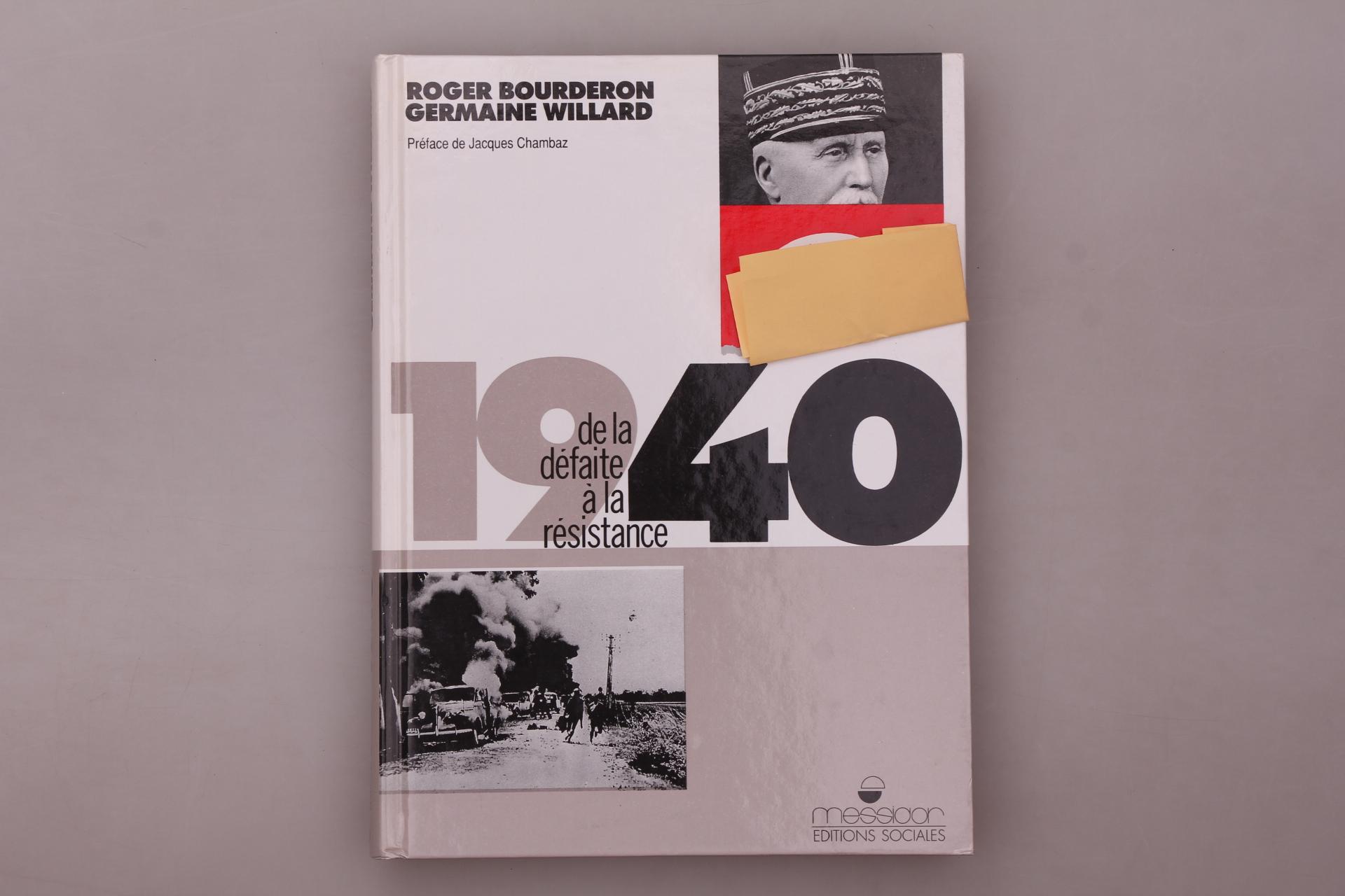 Bourderon, Roger; Willard, Germaine;; 1940