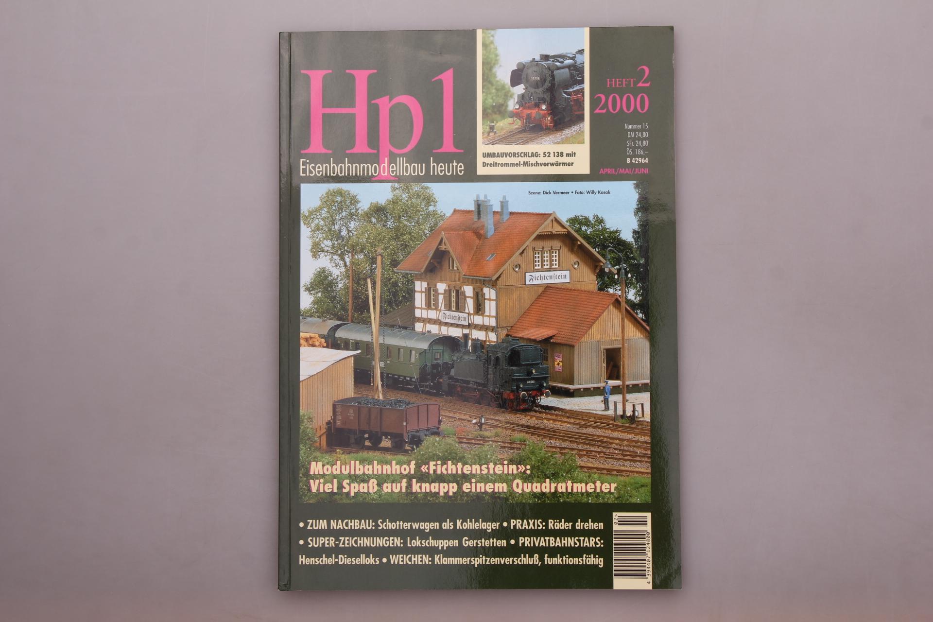 HP 1 EISENBAHNMODELLBAU HEUTE HEFT 2/2000