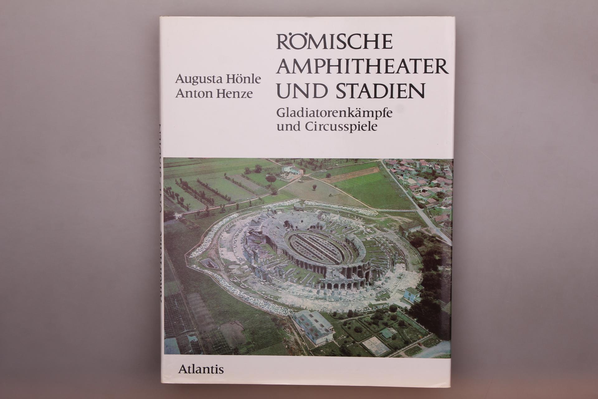 RÖMISCHE AMPHITHEATER UND STADIEN