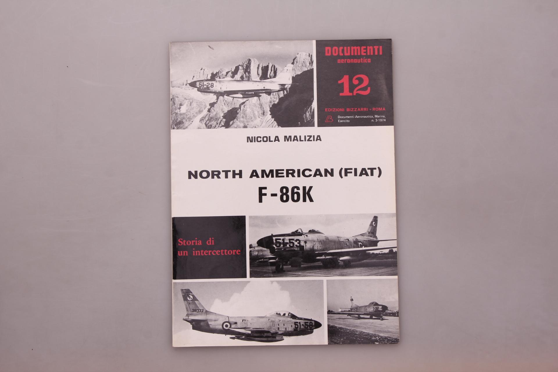 NORTH AMERICAN FIAT F-86K