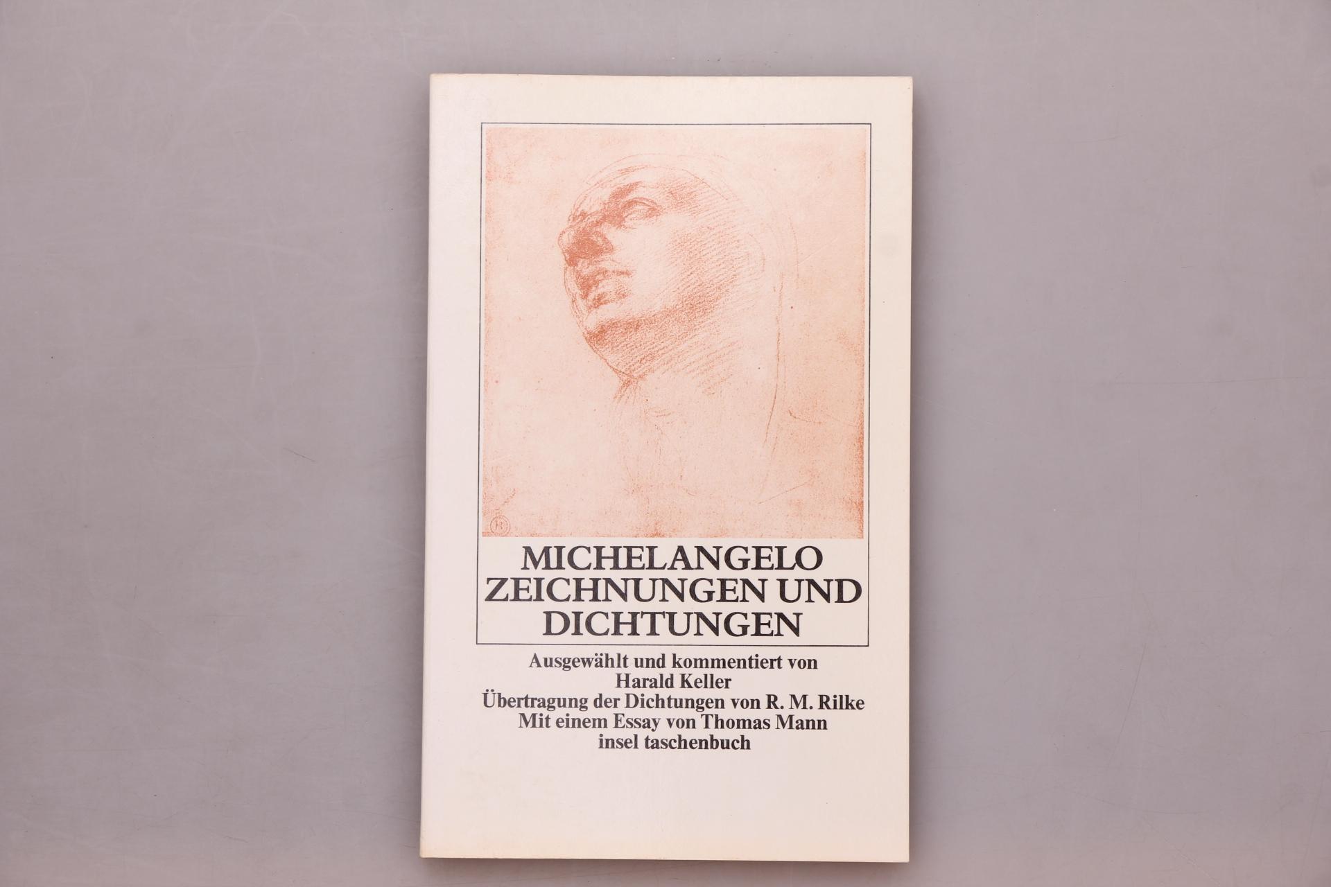 MICHELANGELO - ZEICHNUNGEN UND DICHTUNGEN