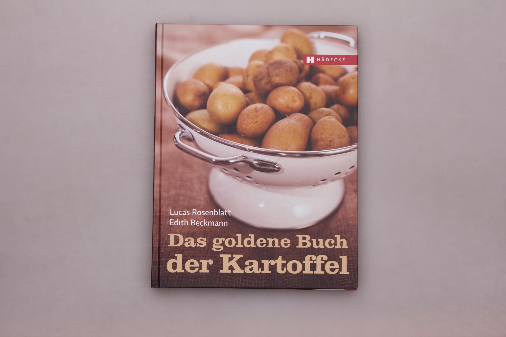 DAS GOLDENE BUCH DER KARTOFFEL