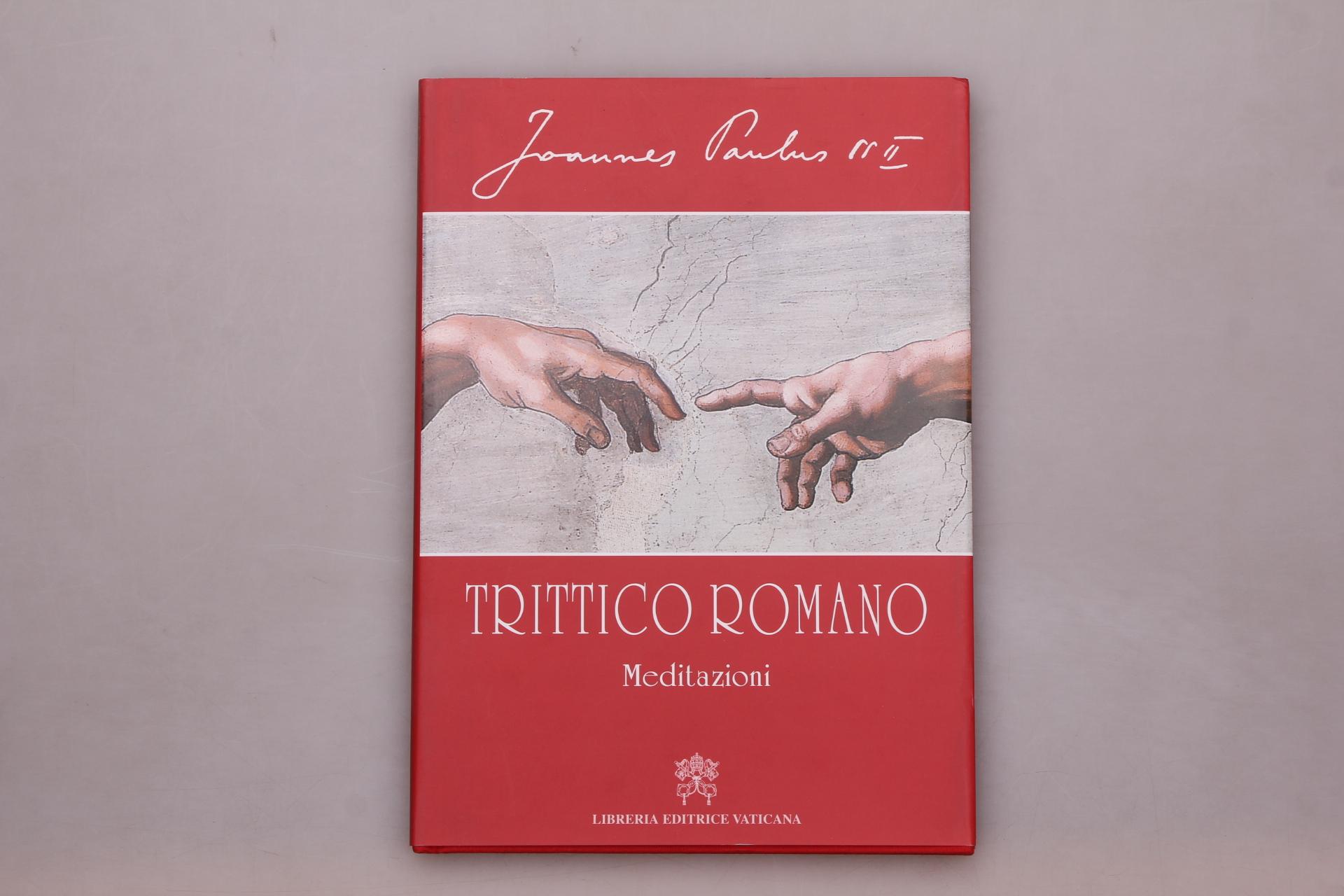 Paolo II, Giovanni TRITTICO ROMANO